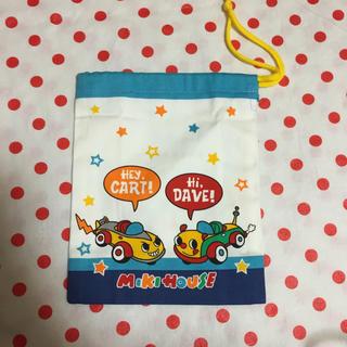ミキハウス(mikihouse)のミキハウス 巾着袋(ランチボックス巾着)