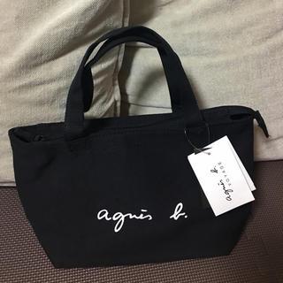 アニエスベー(agnes b.)のアニエスベー トートバッグ ミニサイズ ブラック♡新品(トートバッグ)