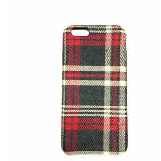 スマホケース フランネルチェック柄 iPhone 6 / 6S かわいい 保護(アイロン)