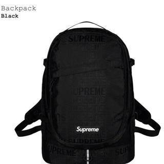 シュプリーム(Supreme)の【新品未使用】Supreme backpack 19ss(バッグパック/リュック)