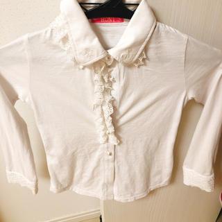 ロニィ(RONI)のroni♡シャツ♡115cm(Tシャツ/カットソー)