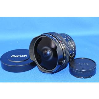 キヤノン(Canon)のCANON NEW FD 15mm F2.8 FISH-EYE(レンズ(単焦点))