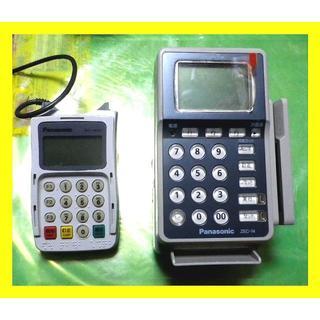 パナソニック(Panasonic)のINFOXカード決済端末と暗証キーパッドのセット Panasonic 中古(店舗用品)