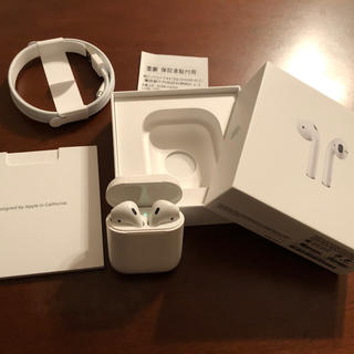 AirPods 保証書付き / 3ヶ月前に購入 / 送料込み