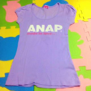 アナップ(ANAP)のANAP タイトTシャツ(Tシャツ(半袖/袖なし))