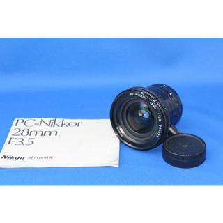 ニコン(Nikon)のNikon PC-Nikkor 28mm F/3.5(レンズ(単焦点))