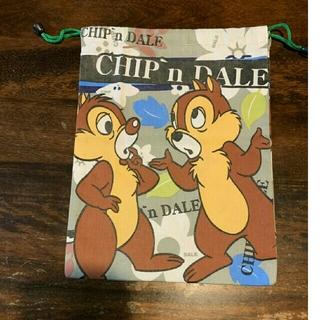 チップアンドデール 巾着袋(ランチボックス巾着)