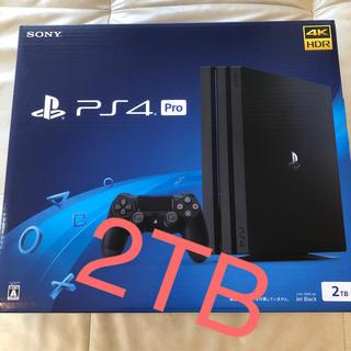PlayStation4 - PS4 Pro 2TB 本体