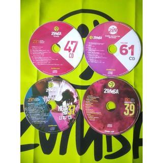 ズンバ(Zumba)のラテンマン7371さま専用 ZIN47 ZIN61 mm37 mm39 各CD(ワールドミュージック)