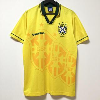 アンブロ(UMBRO)の94年W杯/ブラジル代表/ワールドカップ/サッカー/ユニフォーム/ゲームシャツ(Tシャツ/カットソー(半袖/袖なし))