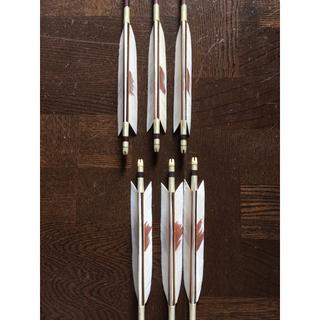 美品 弓道 矢と矢筒(武具)