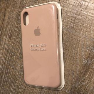 アップル(Apple)のiPhone X   純正 シリコンケース  XSカバー アップル(iPhoneケース)