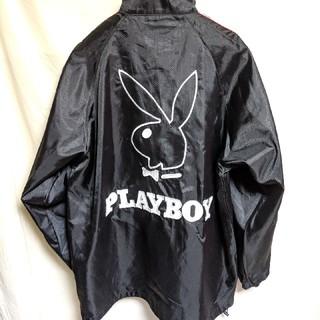 プレイボーイ(PLAYBOY)のPLAY BOYデカロゴナイロンジャケット(ナイロンジャケット)