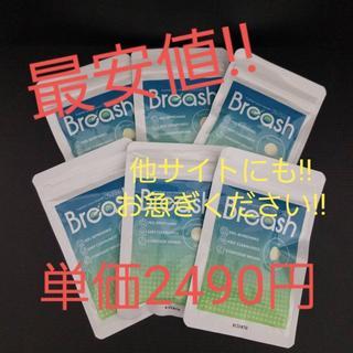 【最安値!!即日発送】ブレッシュ/Breash 6袋セット(口臭防止/エチケット用品)
