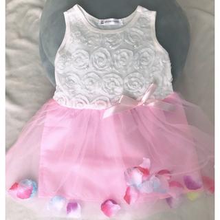 ドレス ピンク 90㎝(ドレス/フォーマル)