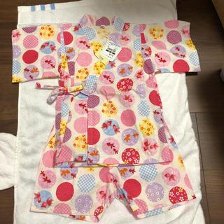 ニシマツヤ(西松屋)の女の子 甚平 95cm(甚平/浴衣)