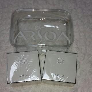 アルソア(ARSOA)のnew クイーンシルバー135g×2個(洗顔料)