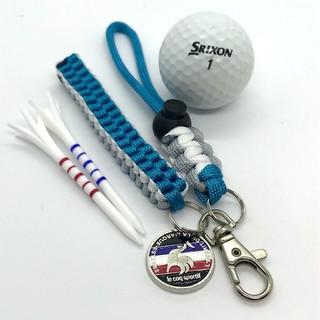 キャロウェイゴルフ(Callaway Golf)のゴルフ ティホルダー グローブホルダー ターコイズ&ホワイトグレー(その他)