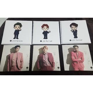 エクソ(EXO)のEXO CD LOVE ME RIGHT 会場限定盤 ステッカーセット(K-POP/アジア)
