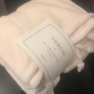 フランフラン(Francfranc)の明日引っ越し処分の為❗️本日が本当の最終出品❗️明日から落札やコメントも不可❌(毛布)