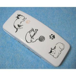 猫の眼鏡ケース 猫たちと毛糸球(その他)