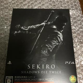 プレイステーション4(PlayStation4)のPS4  SEKIRO  数量限定特典付パッケージ(家庭用ゲームソフト)