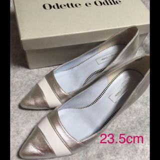 オデットエオディール(Odette e Odile)の✴️Odette e Odile☆シルバー パンプス(ハイヒール/パンプス)