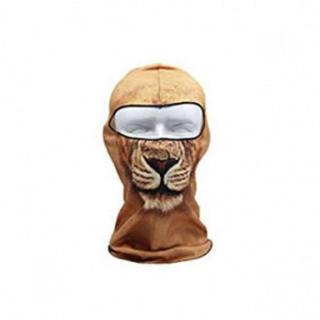 動物フェイスマスク 【ライオン】 ハロウィンにも★(その他)