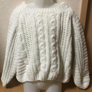 しまむら - バースデー♡セーター♡白♡120