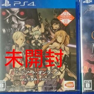 プレイステーション4(PlayStation4)のソードアートオンラインフェイタルバレット(家庭用ゲームソフト)