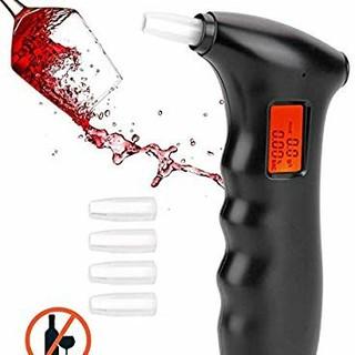 アルコールチェッカー 業務用 高性能 飲酒運転チェック 携帯用 (アルコールグッズ)