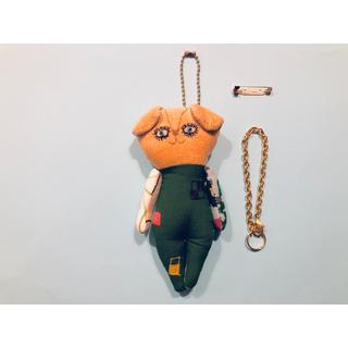 ミナペルホネン(mina perhonen)のミナペルホネン ハンドメイド ドールチャーム 人形 ぬいぐるみ マスコット (バッグチャーム)