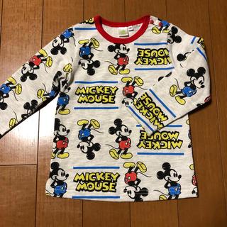 ディズニー(Disney)の美品☆95 ロンT.長T ディズニー/ミッキー/ミニー 長袖Tシャツ 男女兼用(Tシャツ/カットソー)