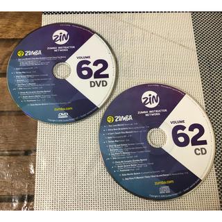 ズンバ(Zumba)の【セット】ZUMBA ZIN 62 DVD & CD (スポーツ/フィットネス)