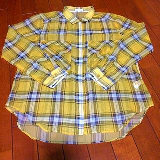 ジーユー(GU)のシースルーシャツ GU(シャツ/ブラウス(半袖/袖なし))