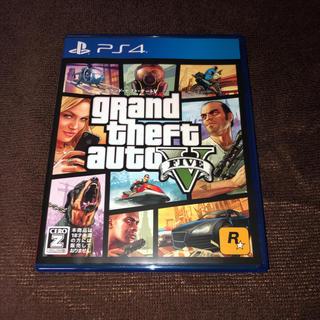 プレイステーション4(PlayStation4)のグランドセフトオート5 GTA5(家庭用ゲームソフト)