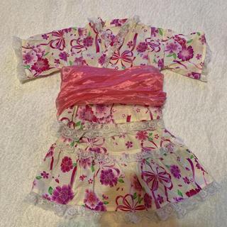 kidsドレス浴衣100㎝(甚平/浴衣)