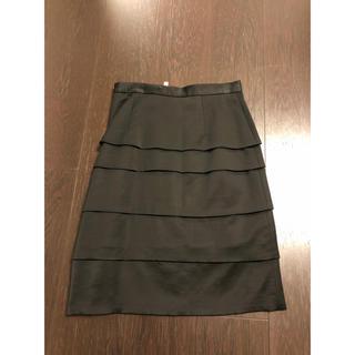 エムプルミエ(M-premier)のM-PREMIER BLACK34(ひざ丈スカート)