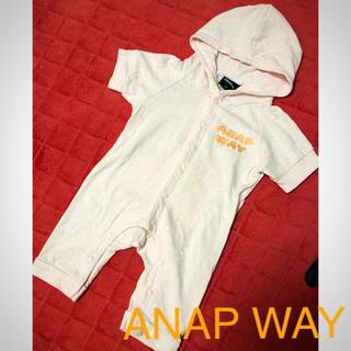アナップ(ANAP)の꙳★*゚ANAP WAY꙳★*゚70ロンパ⌣̈⃝ ♡ ⌣̈⃝ ♡(ロンパース)