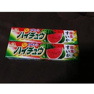 モリナガセイカ(森永製菓)のハイチュウ スイカ味(菓子/デザート)
