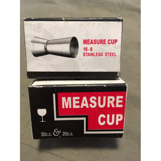 measure cup カクテル用(アルコールグッズ)