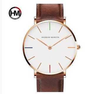 新品◆メンズウォッチ◆HM business watch◆ホワイト(コーナーソファ)