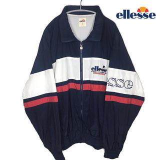 エレッセ(ellesse)のellesse エレッセ  90s 美品 ビッグシルエット ナイロンジャケット(ナイロンジャケット)
