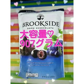 コストコ(コストコ)のブルックサイドダークチョコレート アサイーブルーベリー(菓子/デザート)
