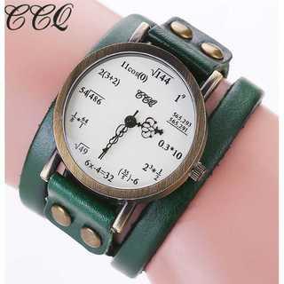 SNS話題◆新品◆レディースウォッチ◆数式時計◆みどり(コーナーソファ)