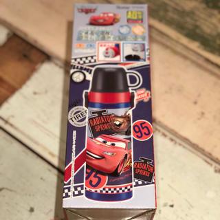 ディズニー(Disney)の 2WAY コップ付き 水筒 ステンレスボトル 600ml カーズ ディズニー (水筒)