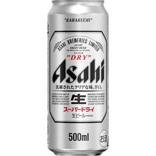 161.アサヒ スーパードライ 500ml缶×24本(ビール)