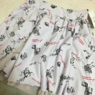 アンクルージュ(Ank Rouge)の新品タグ付き♡大人気完売♡Ank Rouge プレゼント柄スカート(ミニスカート)