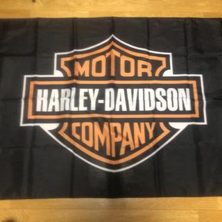 ハーレーダビッドソン(Harley Davidson)のハーレー ダビッドソン フラッグ  バナー 旗  ハーレー バイカー チョッパー(その他)