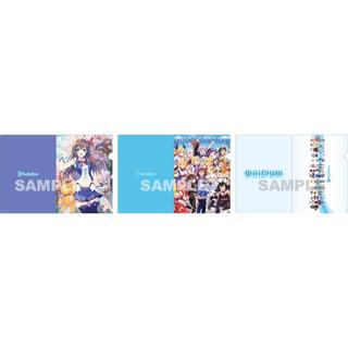 ホロライブ 公式クリアファイル3枚セット 秋葉原ゲーマーズ本店 Vtuber (クリアファイル)